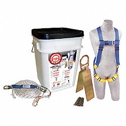 Roofers Harness Kit, Univ., 310 lb.
