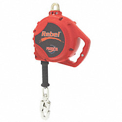Slf-Retracting Lifeline, 100ft, Glvnzd Stl