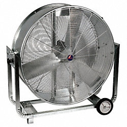 Air Circulator, 48 In, 19, 500 cfm, 115V