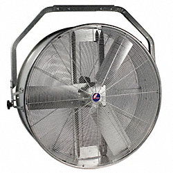 Air Circulator, 36 In, 12, 500 cfm, 115V