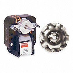 Direct Drive Unassembled Fan, 2-1/2 in.