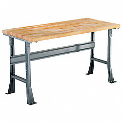 Flared Leg Workbench, 60W x 30D x 30In H
