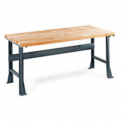 Flared Leg Workbench, 72W x 30D x 30In H