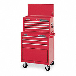 Tool Cart & Chest Combination, 7 Drawers