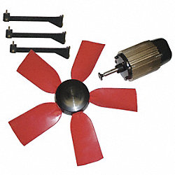Exhaust Fan Kit, 28 In Dia, 8200 CFM, 240 V