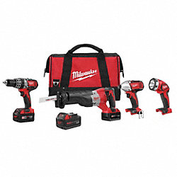 Cordless Combination Kit, 18.0V