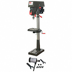 Step Pull Drill Press W/ Tap Head, 17 In