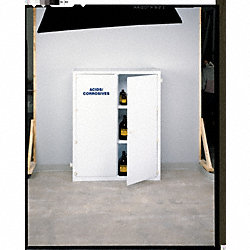 Acid Safety Cabinet, 60 In. H, 72 gal.