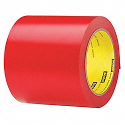 Hazard Marking Tape, Roll, 4In W, 108 ft. L