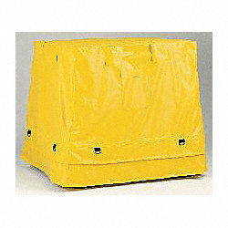 Containment Tarp, 53-1/2 In. L, Yellow