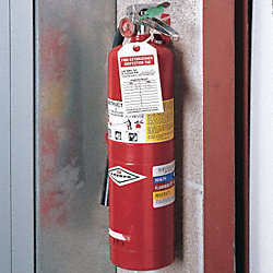 Tag, Fire Extinguisher, Paper, 25 PK