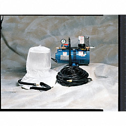 Supplied Air Pump Package, 2 Ppl, 1-1/2 HP