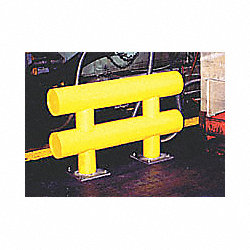 Vehicle Stopper Guard Rail, 12 ft x 36 In
