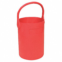 Bottle Carrier, Safety Tote, 7 1/2 In, Red