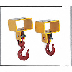 Fork Hook, Single Fork, Capacity 3000 Lbs.