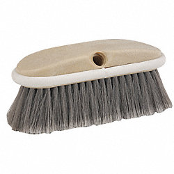 Wash-N-Scrub Brush, 8 In Blck, 2 In Trm