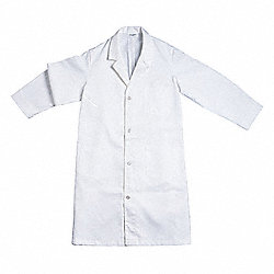 Lab Coat, XL, White, Male