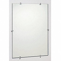 Frameless Mirror, 24x36 In
