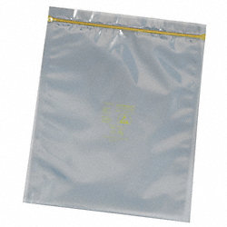 Lay Flat Poly Bag, 18 In.L, 18 In.W, PK100
