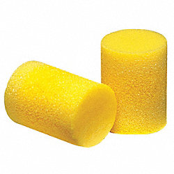 Ear Plugs, 33dB, W/o Cord, Lrg, PK200