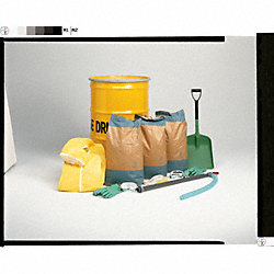 Spill Kit, 85 gal., Drum