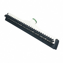 Squeegee and Brush, Black/White, 18 In.