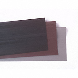 Nose Stair Tread, Brown, Vinyl, 3 ft. W