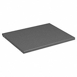 Shelf, 18 In x 18 In x 3/4 In, Gray