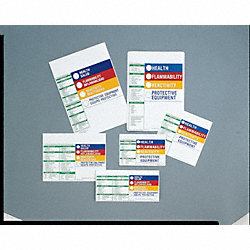 HMIG Label, 6 In. H, 6 In. W, PK 100