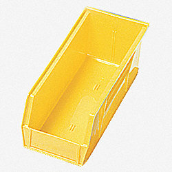 Shelf Bin, 11-5/8L x 6-5/8W, Yellow