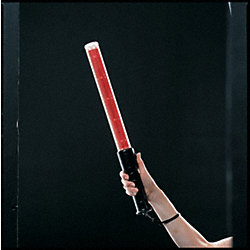 LED 3-Stage Safety Baton, LED Color Red
