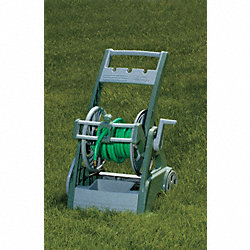 Portable Hose Cart, Polymer, 24 In.H