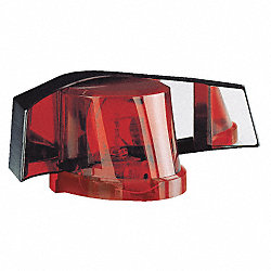 Warning Strobe Light, Amber/Red