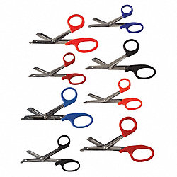 EMS Shears, EMI, Orange, 5.5 In