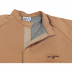 Flame-Resistant Jacket, Light Brown, 2XLT