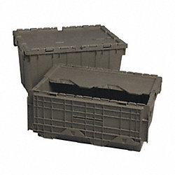 Dist. Container, 27L x 17-3/4W, Gray