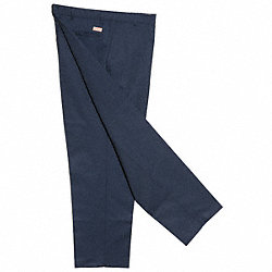 Industrial Work Pants, Navy, Size 42x34 In