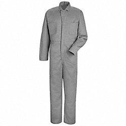 Coverall, Chest 44In., Fisher Herringbone