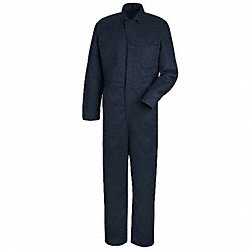 Coverall, Chest 40In., Navy