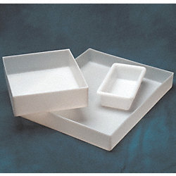 Rolled Lip Tray, HDPE, 1-3/4 gal.