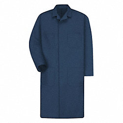Shop Coat, No Insulation, Navy, L