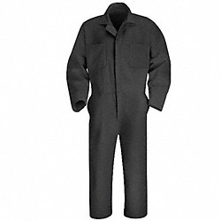 Coverall, Chest 40In., Gray