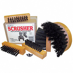 Brush Set for Standard Scrusher