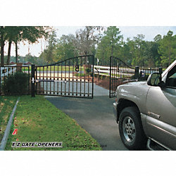 ELECTRIC GATE OPENER DOUBLE