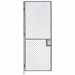 Wire Partition Hinged Door, W 3 x H 7