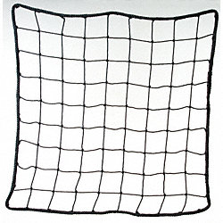 Back of Rack Net Panel, Gray
