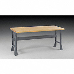 Fixed Leg Workbench, 72Wx36Dx33-3/4In H