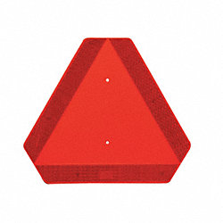Vehicle Placard, Slow Moving Vehicle Sign