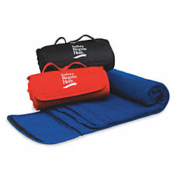 Blanket, Safety Begins Here, Royal Blue