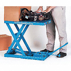 Scissor Lift Table, 1100 lb., 115V, 1 Phase